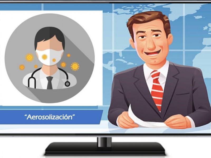 Aerosolización del Coronavirus